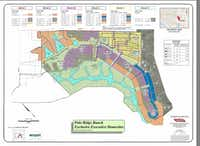 Polo Ridge Ranch will be built in multiple phases and is located south of Interstate 20.(City of Mesquite)