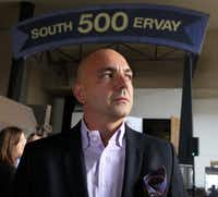 <p>Mike Sarimsakci, a real estate developer, calls himself the Turkish Trump. He wanted to help launch the Trump Organization's new Scion brand with a hotel in downtown Dallas.</p>(Louis DeLuca/Staff Photographer)
