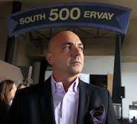 <p>Mike Sarimsakci, a real estate developer, calls himself the Turkish Trump. He wanted to helplaunch the Trump Organization's new Scion brand with a hotel in downtown Dallas.</p>(Louis DeLuca/Staff Photographer)