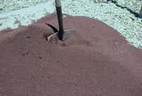 Lava sand(Howard Garrett/Special Contributor)
