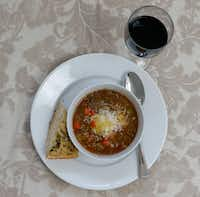 Lentil Vegetable Soup(Ron Baselice/Staff Photographer)