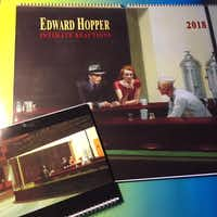 The author received a 2018 Edward Hopper calendar that was four times larger than he imagined when he placed the order.