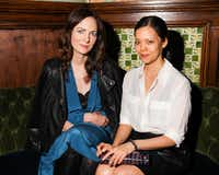Kerry Diamond and Claudia Wu, authors of <i>Cherry Bombe: The Cookbook </i>(Angela Pham/BFAnyc.com)