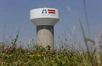A city of Allen water tower near Prestige Circle and Bethany Drive.(Andy Jacobsohn/Staff Photographer)