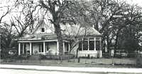 An undated photo of the Pine Street house, taken from city documents when Dallas was considering designating the Ellis House as an official Dallas landmark.