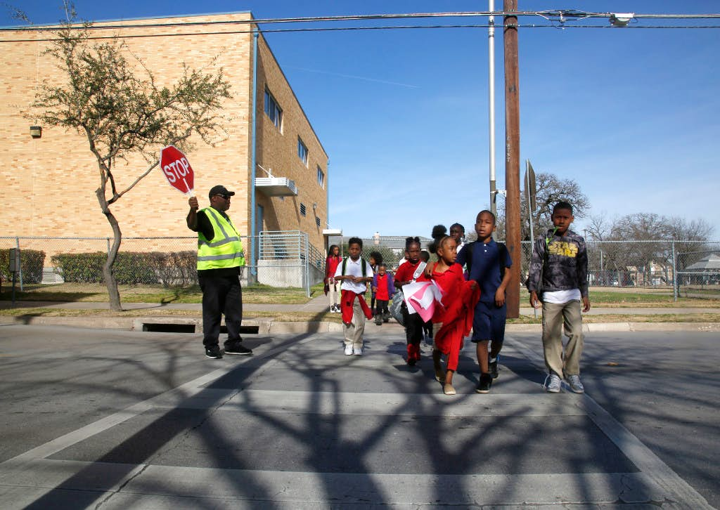 Dallas Sues Over Onus For School Crossing Guard Program As