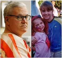 <p>John Battaglia is scheduled to die Feb. 1 for killing his daughters, 6-year-old Liberty (left) and 9-year-old Faith, in 2001.</p>