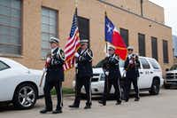 <p>Some believe that because Texas was once an independent nation, it is the only state that can fly its flag at the same height as the U.S. flag.</p>(Jeff Woo/Denton Record-Chronicle)
