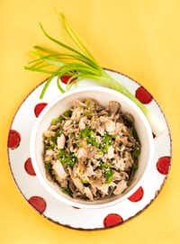 Cold Soba Noodles with Chicken(Ashley Landis/Staff Photographer)