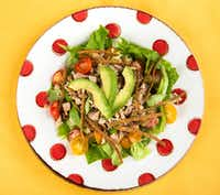 Chicken Tex-Mex Salad(Ashley Landis/Staff Photographer)