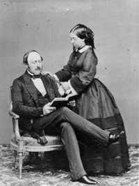 Queen Victoria and Prince Albert(Keystone/Getty Images)
