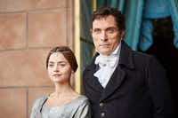 Jenna Coleman as Queen Victoria and Rufus Sewell as Lord Melbourne in <i>Victoria</i>.&nbsp;&nbsp;(Justin Slee/<p>ITV Plc</p>)