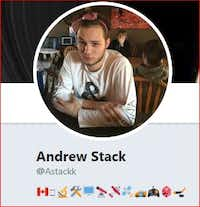 "<p><span style=""font-size: 1em; background-color: transparent;"">Andrew Stack, a 26-year-old computer specialist from British Columbia, schooled The Watchdog on iPhones.</span></p>(His Twitter profile)"
