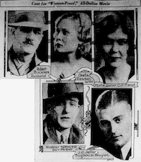 Cast of <i>Woman-Proof</i>(The Dallas Morning News)