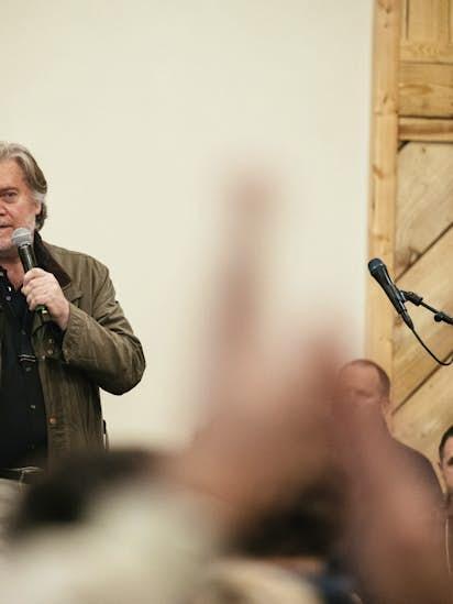 Steve Bannon steps down as Breitbart News chairman after