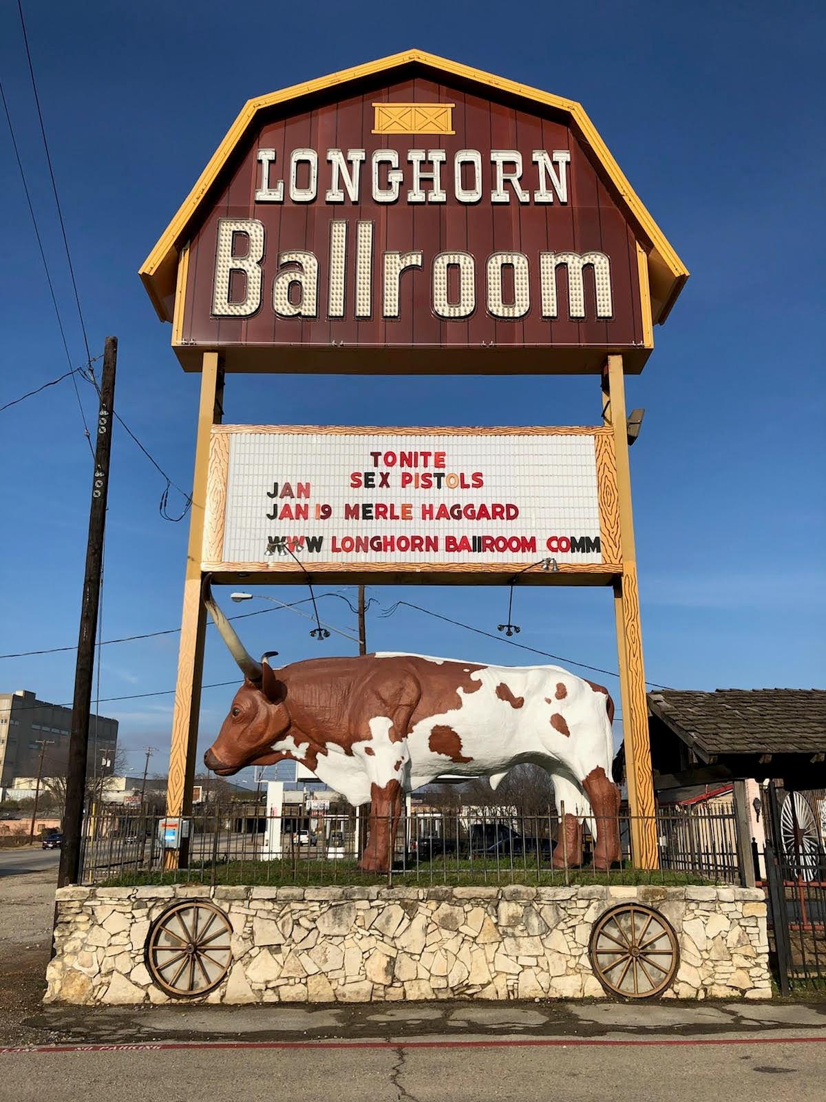 Sex pistols longhorn ballroom