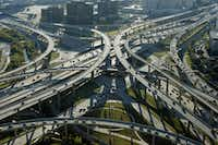 The High Five interchange of Central Expressway and LBJ Freeway(File Photo/Staff)