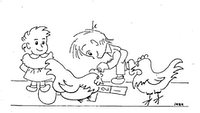 Illustration for the March 4, 1981 edition of the Line One column<br>