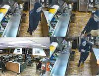 The robbers are suspected in a number of similar crimes.(Mesquite Police Department)