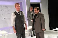 Shane Beeson (left), Mark Oristano (back) and Joe Messina in  <i>Glengarry Glen Ross</i>.(Kris Ikejiri)