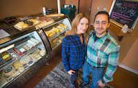 Couple Jennifer Gentry and Harold Gonzalez own The Salty Cow in Lewisville.(Robert W. Hart /Special Contributor)