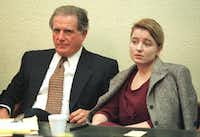 Doug Mulder sat with Darlie Routier during her murder trial in Kerrville. She was found guilty of killing one of her two sons. Mulder insisted this was because of the venue and nothing more.(Richard Michael Pruitt/Staff Photographer)