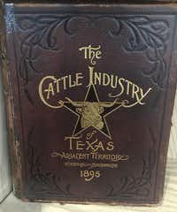 This 1895 guide to the cattle industry of Texas features rare photographs of cowboys and Texas ranches.