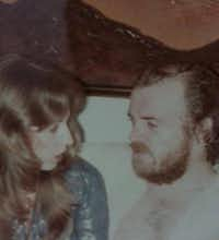 Barbara Cope and Joe Cocker, with whom she toured in 1970(Barbara Cope's Facebook page)