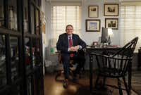 New Dallas Morning News Vice President and Editor of Editorials Brendan Miniter is pictured at his Dallas home, Tuesday, January 16, 2018. (Tom Fox/The Dallas Morning News)(<br>/<br>)