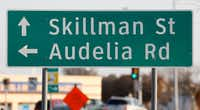 The timing for Dallas' long-awaited $65 million project to improve the intersection of Skillman Street and Audelia Road in Lake Highlands is tied to the regional LBJ East project. (David Woo/Staff Photographer)