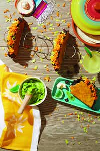 Taco cake from <i>How to Cake It</i>(Jeremy Kohm/William Morrow)