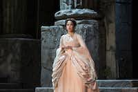 "This 2017 photo provided by the Metropolitan Opera shows Nadine Sierra as Ilia in Mozart's  <i>Idomeneo </i>in New York.   (<p><span style=""font-size: 1em; background-color: transparent;"">Metropolitan Opera via AP</span></p>)"