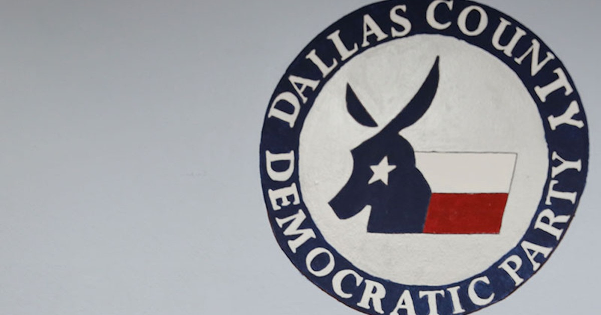 Dallas County Republicans file lawsuit to kick 128 Democrats off ...