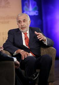 Carl Icahn (File/CNBC via New York Times)