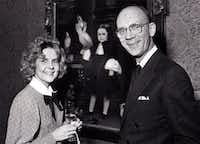 In 1986, Dianne Goode and Dr. Bill Jordan are seen in this Fete Set photo.(Joe Laird /Staff Photographer)