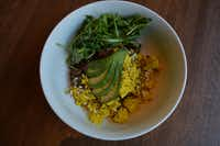 The Woodstock Breakfast Hash at Unleavened Fresh Kitchen.(Brian Elledge)