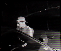 Surveillance footage of the suspect(Parker County Sheriff's Department)