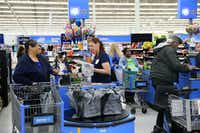 A Fairview woman says Walmart improperly charged her sales tax on gift cards. She fought it. This is  a Walmart in Milwaukee.(Michael Sears/TNS)