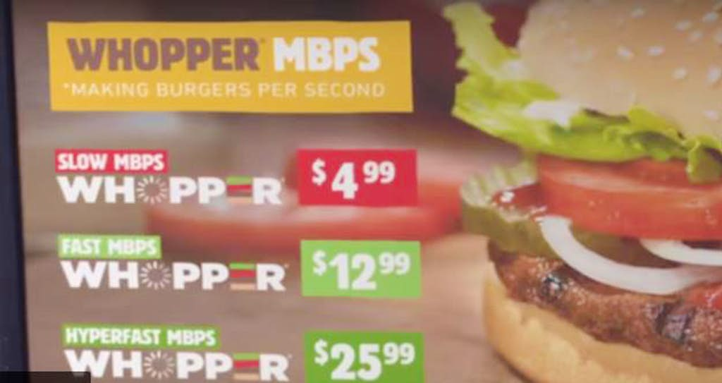 Watch: Burger King explains net neutrality with a $26