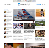 Mockup of the new homepage