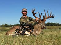 Travis D. Johnson was sentenced to two years of probation and 40 hours of community service for illegally killing a white-tailed buck. (Texas Parks and Wildlife Department)