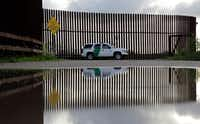 In this Sept. 15, 2015 photo, a U.S. Customs and Border Patrol agent patrols along the border fence in Hidalgo, Texas.  (AP/Eric Gay/2015 File Photo)