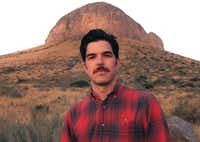 Francisco Cantu, author of <i>The Line Becomes a River</i>.  (Keith Marroquin)