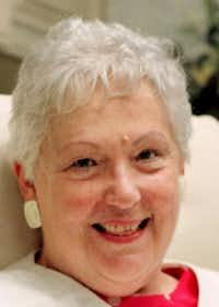 Dorothy Southerland Estes, former UT Arlington director of student publications. (1996 File Photo/Tom Fox)