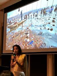 Filmmaker Shalini Kantanya(Staff/Deborah Fleck)