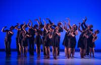 Dallas Black Dance Theatre dancers performed one of the dances from <i>Smoke</i>during a dress rehearsal last year at the Dee and Charles Wyly Theatre.(2017 File Photo/Rex C. Curry)