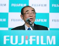 Fujifilm Holdings chairman and CEO Shigetaka Komori.(AFP/Getty Images)