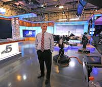 "<p> David Finfrock was the second c<span style=""font-size: 1em; background-color: transparent;"">hief meteorologist for KXAS-TV (NBC5). </span></p>(Louis DeLuca/Staff Photographer)"