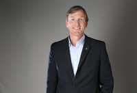 Democratic gubernatorial candidate Andrew White poses for a photograph in the photo studio at The Dallas Morning News office in Dallas on Wednesday, Jan. 31, 2018. (Rose Baca/The Dallas Morning News)(Rose Baca/Staff Photographer)