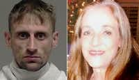 Michael Pennington, left, is accused of fatally stabbing Leasa Nixon Carroll on July 4, 2016, in McKinney.